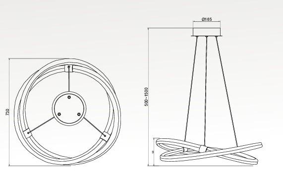 infinity line 2 lampara