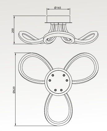 knot line 2 plafon