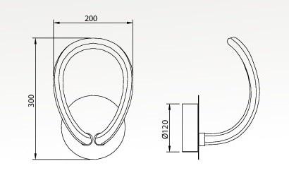 knot line 1 aplique