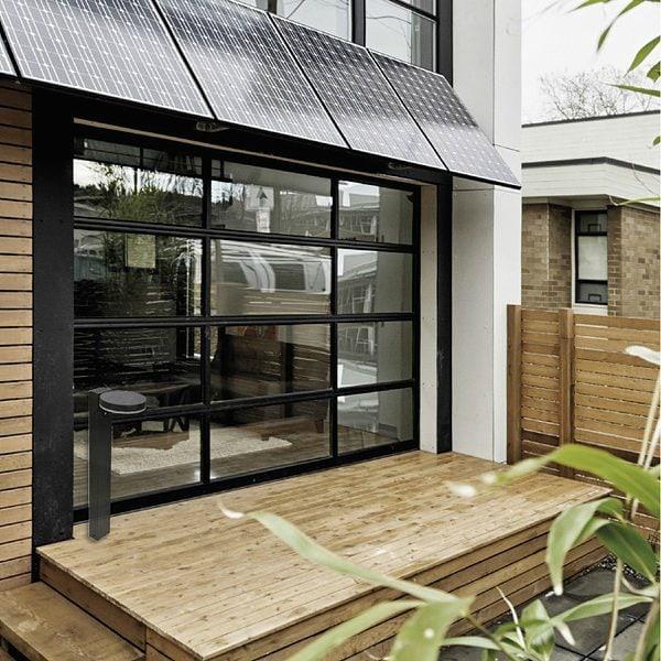 halo baliza solar exterior