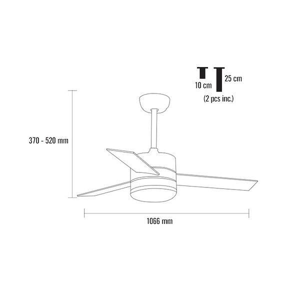 Ventilador-de-techo-BORA-dimensiones